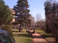 le parc du campus d'espace forma