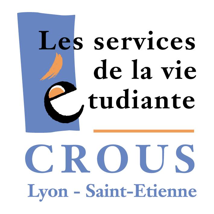 logo du CROUS  de lyon et Saint Etienne